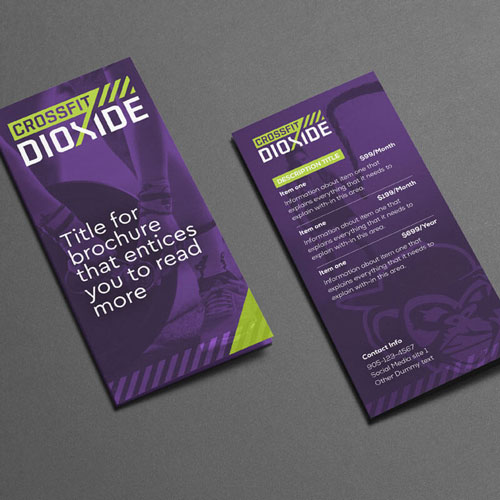 Crossfit Dioxide Flyer Design